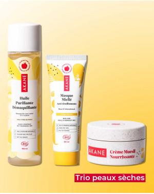 Dry skin trio