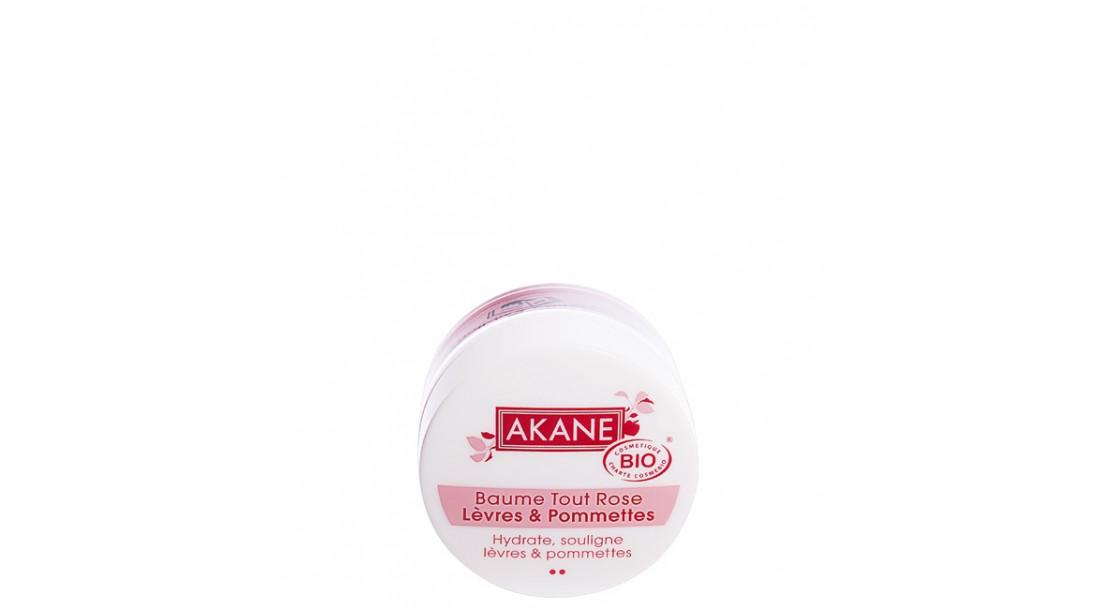 Bálsamo orgánico de labios y pómulos de rosa 12G
