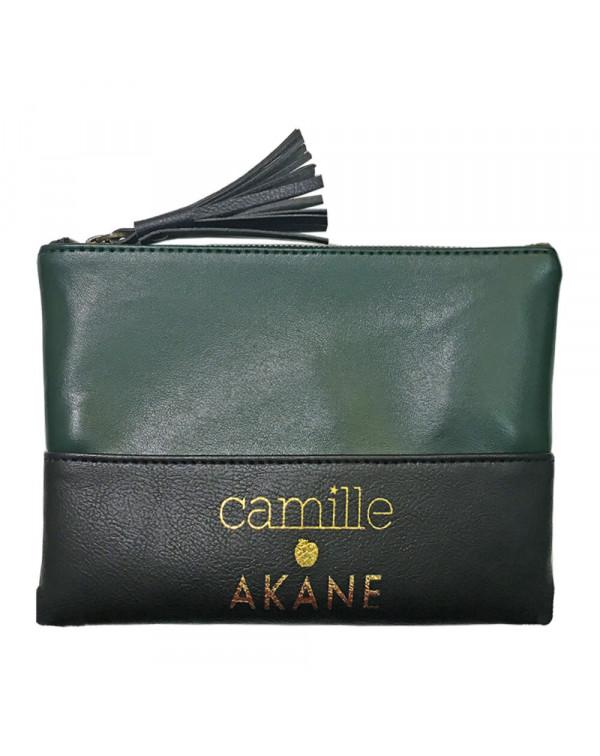 Pochette en cuir de pomme Camille - Offerte dès 80€ d'achat