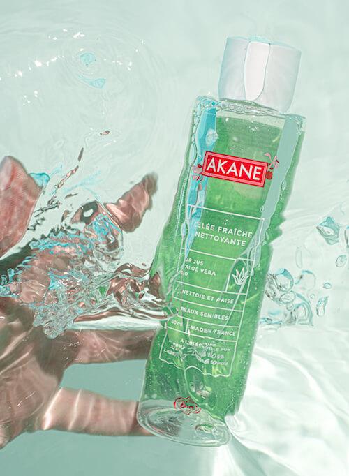 gelee fraiche nettoyante pour le visage