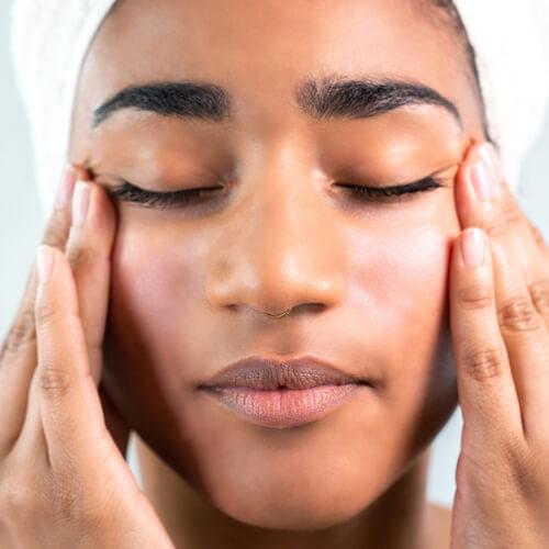 nettoyage du visage
